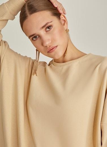 NGSTYLE Oversize Sweatshirt Bej
